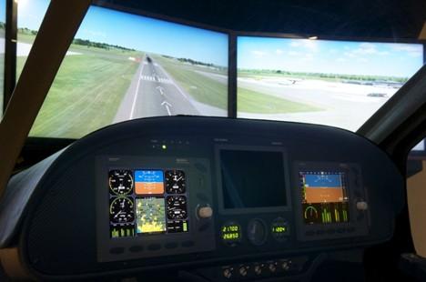 全动飞行模拟器--深圳华鹰金石航空服务有限公司